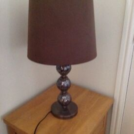 Table lamp,pick up only