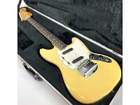 1975 Fender Mustang - Vintage - Blonde - Trades