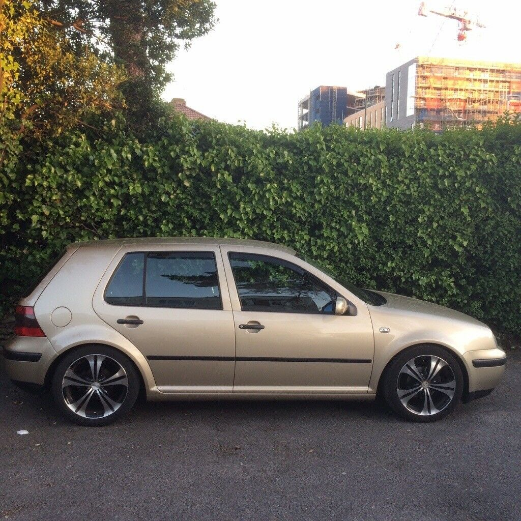 MK4 Golf - Great Condition - Modified - Storm Beige