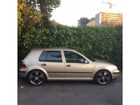 VW Golf 1.6 - Great Condition - Storm Beige
