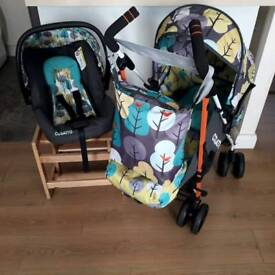 COSATTO TO & FRO BUGGY + CARSEAT ALL BRAND NEW