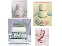 £1 cupcakes, £35 celebration cakes, £45 wedding cakes, giant cupcakes £35