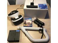 PSvr + move controllers + aim controller + camera