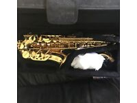 Alto Saxophone - with Padded Case - Excellent condition.