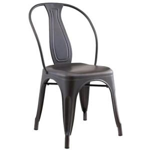 4PK Gunmetal Side Chair Sale-WO 7706 (BD-2573)
