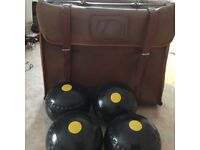 Hemselite set of 4 size 6 super grip bowls with bag and shoes