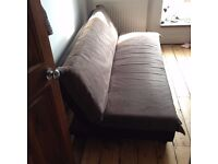 Grey occasional sofa bed, hardly use as a sofa or bed great condition