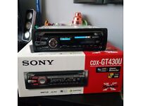Sony CDX-GT430U CD / MP3 / WMA car stereo with USB