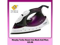 Morphy Turbo Steam Black And Plum