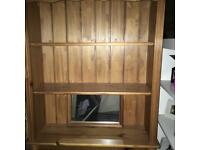 Solid pine wooden shelves - lovely as they are or upcyled