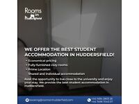 We offer best student accommodation huddersfield