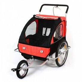 Samax 2-in-1 Bicycle Trailer and Jogger - brand new!