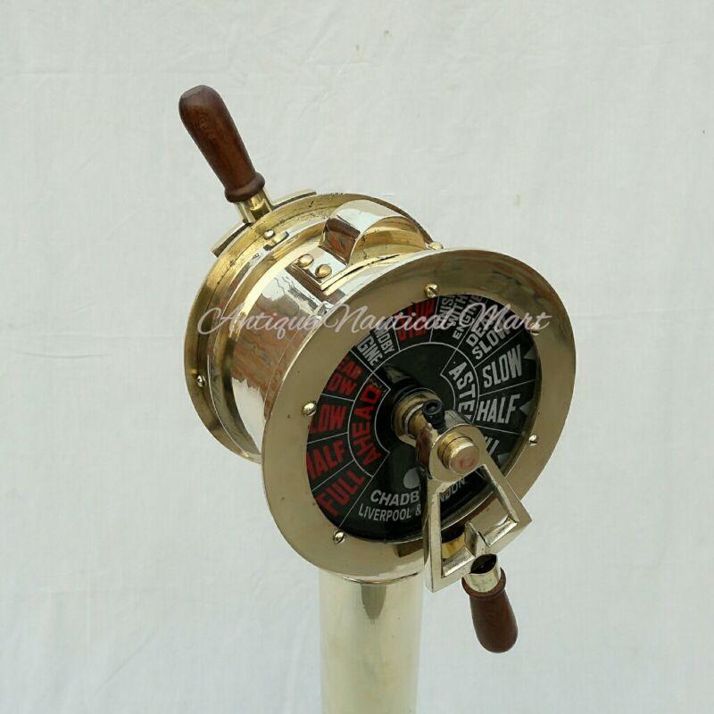 Engine Order Telegraph Antique Nautical Maritime Home Decorative