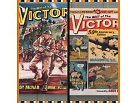 Collectible Best of VICTOR Books For Boys Hardback Comic (Set of 2)