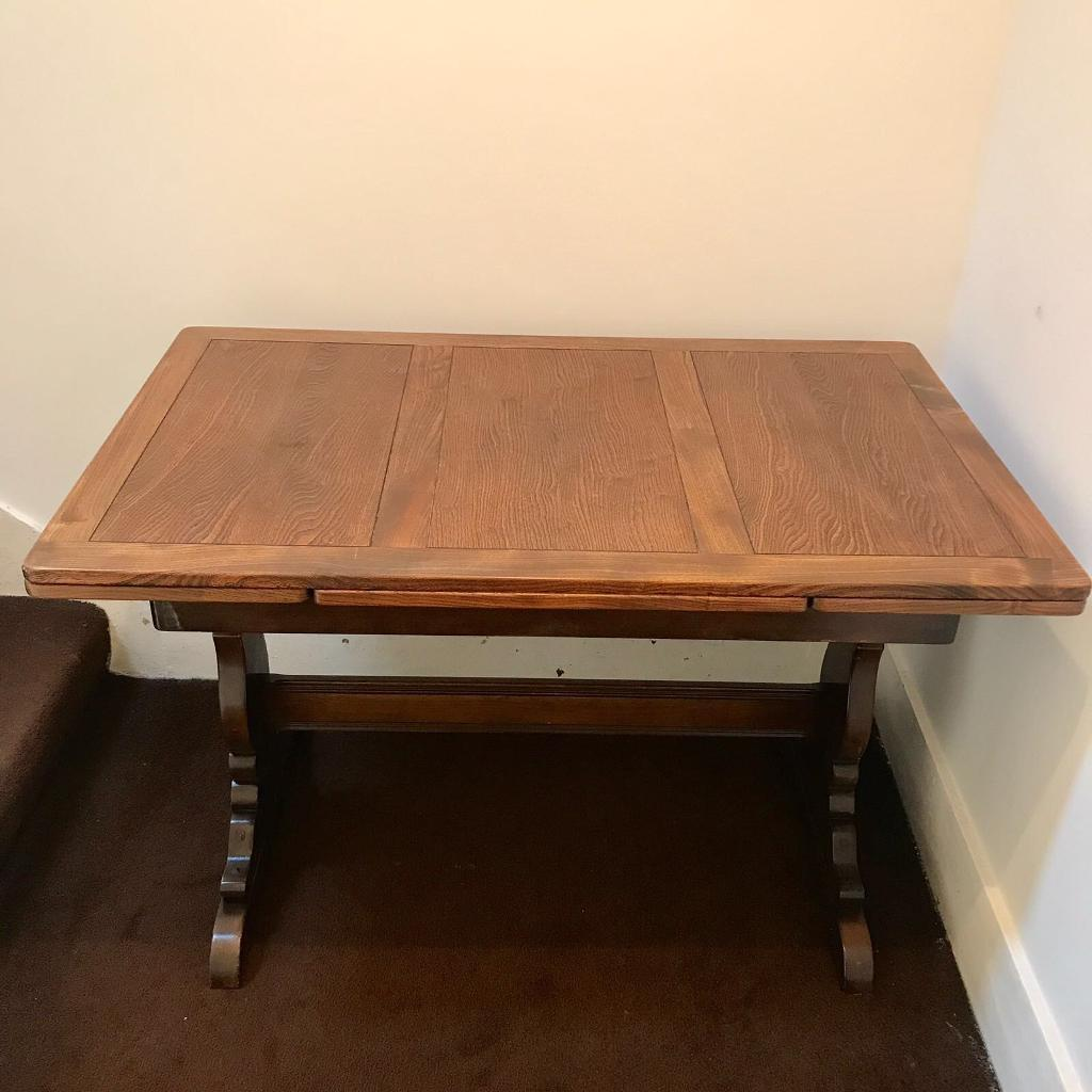 Ercol Refectory Extending Dining Table Mid Century Vintage