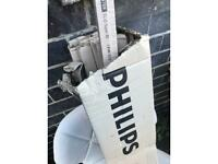 9 x Philips Tube light bulbs
