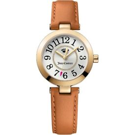 Brand New - Juicy Couture Ladies Watch Brown Leather