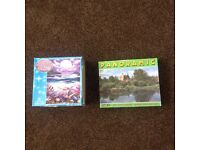 2 Jigsaw puzzles - 750 piece and 400 piece (30p for both puzzles, not individual)