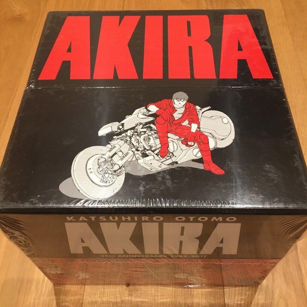 Akira - manga box set. NEW SEALED. 35th