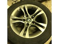 """16"""" Alloy Wheels BMW with Tyres!"""