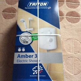 New Sealed Triton Amber 3 Electric Shower