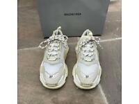 Balenciaga triple s trainers size 4
