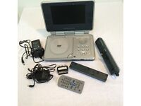 "Venturer PVS 17701 Portable DVD Player with 7"" LCD Screen"
