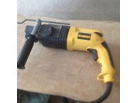 Dewalt 240 volt sds hammer drill