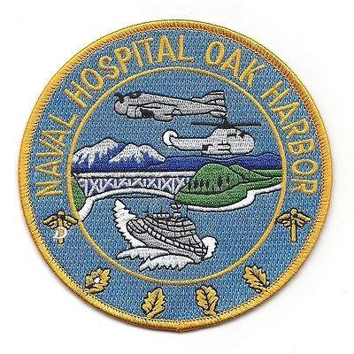 US Naval Hospital OAK HARBOR WA Military Patch - Navy