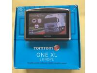 Tom Tom XL HGV, New V996 Europe Truck Map, Boxed Like New, October 2017 !!!