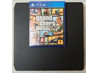 SONY PLAYSTATION 4 PS4 SLIM 500GB & GRAND THEFT AUTO 5 GAME