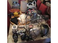 123goforit House Clearance – appliances, crockery, cutlery, sports equip, books, toys, etc. from 25p