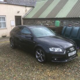 Audi A3 170 Tdi Quattro sline black edition *sensible offers considered*