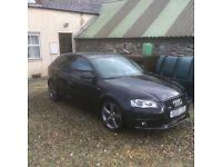 Audi A3 170 Tdi Quattro sline black edition *sensible offers considered*