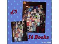 Bundle of 54 books