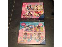2 jigsaws- DocMcStuffins & Minnie Mouse