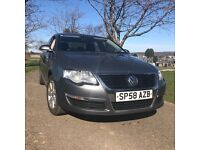 2008 58 VW PASSAT 1.9 TDI SE (105) 1 OWNER MOT END NOVEMBER