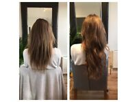 Amazing Pre-Bonded Hair Extensions & Hairstyling