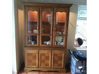 Oak Dresser 3 panel