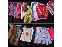 Bundle of girls clothes 3-4