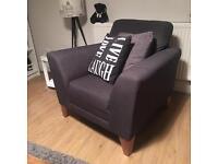 Grey Armchair from Cargo