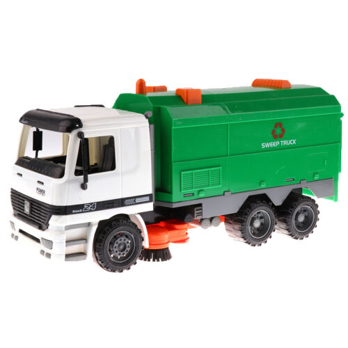 1/12 Friction Powered Street Sweeper Engineering Vehicles To