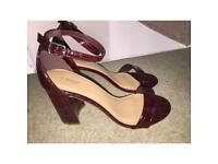 Plum shoes size 6