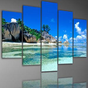 Quadri su tela colore scelta quadro quadri 200x100cm 6752 - Quadri per casa mare ...