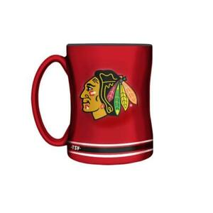 Chicago Blackhawks 14 Ounce Sculpted Relief Mug (New) Alberta Preview