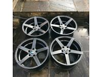 BMW 19 inch Alloy Wheels Alloys - CV3 - Concave - Gun Metal - With Tyres M3 E92