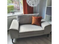 3 Seater, Snuggler and Stool (Excellent Condition)