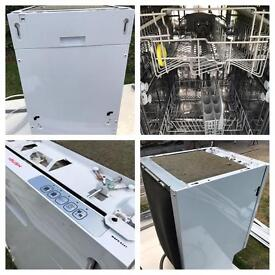 BUSH INTEGRATED DISH WASHER, 530mm deep, 450mm wide, 800mm high. Great condition!!!