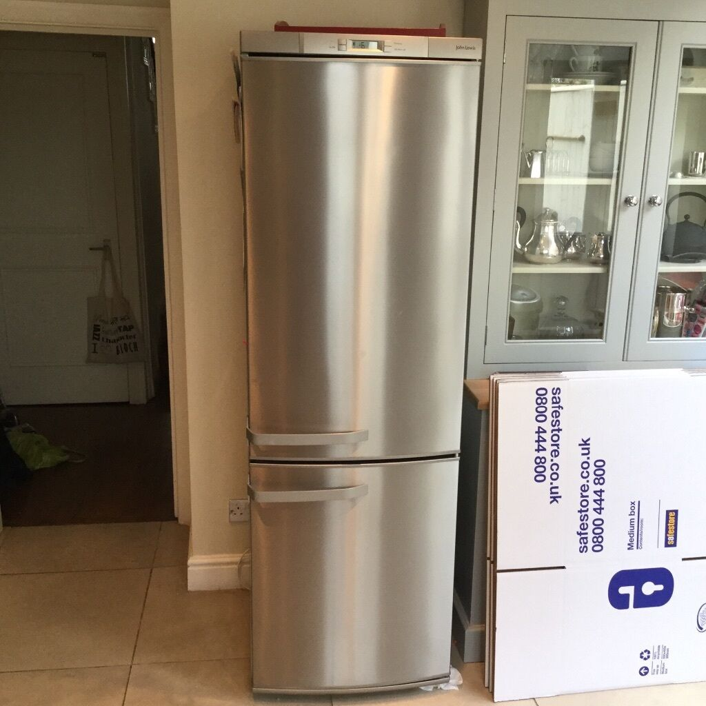 John Lewis fridge freezer  4 years old  Excellent condition