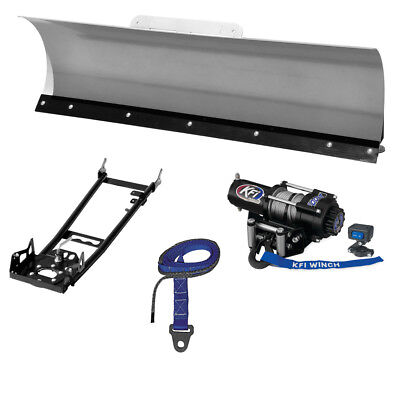 "New KFI 60"" Pro-Series Snow Plow System - 2014 Honda TRX420 Rancher AT 4x4 ATV"